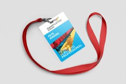 Gamification Europe Lanyard Branding Design