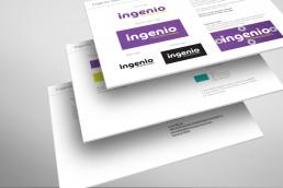 Ingenio Technologies Brand Guidelines Design