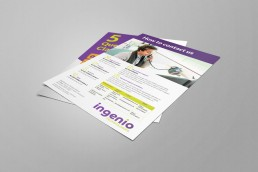 Ingenio Technologies Leaflet Design
