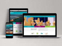 Newhaven Chamber of Commerce Website Design and Branding