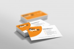 On The Spot Accountants Branding Business Card Design
