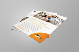 On The Spot Accountants Branding Leaflet Design