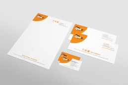 On The Spot Accountants Stationery Design