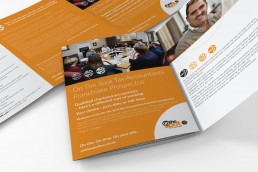 On The Spot Accountants Branding Brochure Design