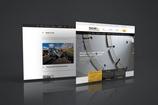 Pentruder UK website design