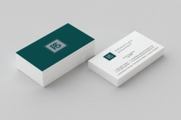 PriestleySoundy Business Card Design