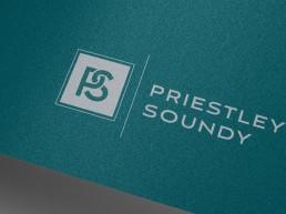 PriestleySoundy Logo Design Branding