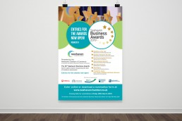 Seahaven Business Awards Poster Design