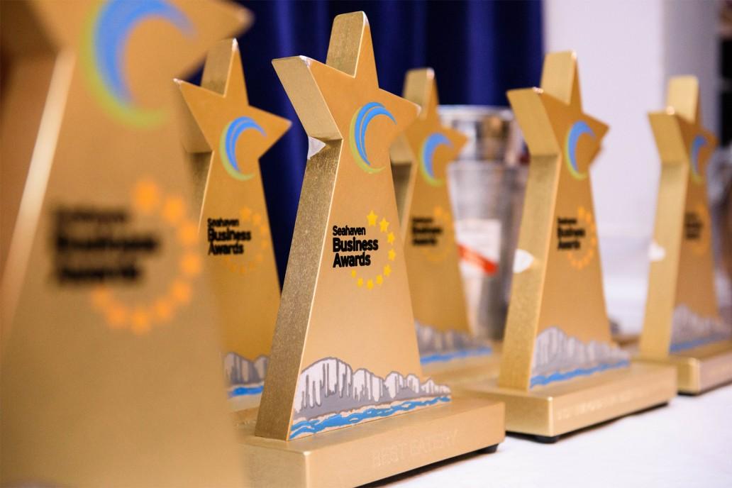 Seahaven Business Awards Trophy Design