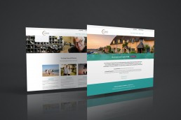 Corfe Wealth Management Website Design
