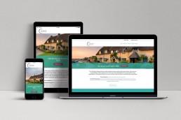 Corfe Wealth Management Website Design