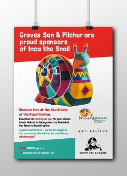 Graves Son & Pilcher Property Poster Design