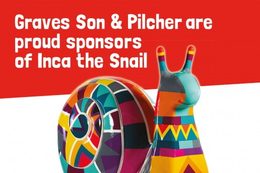 Graves Son & Pilcher Property Poster Design Snail Trail Brighton