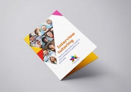 Great leaflet design and branding