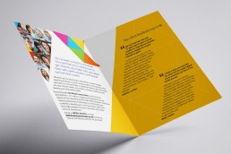 Recruitment leaflet design Epsom Surrey