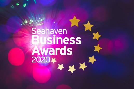 Seahaven Business Awards 2020 branding