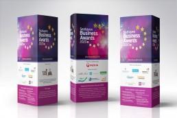Seahaven Business Awards branding design