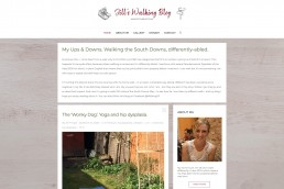 Blog website design Surrey