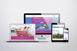 Charity website design and branding Surrey Sussex