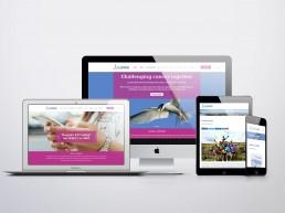 Charity website design and branding Surrey Sussex