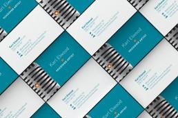 Branded Business Card Karl Elwood Voiceover Artist