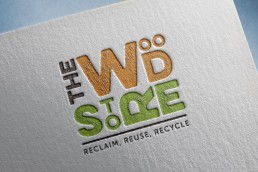 The Wood Store Brighton logo design
