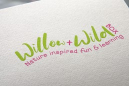 Willow & Wild Box Logo Design Sussex