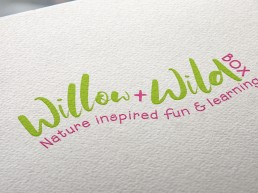 Willow & Wild Box Logo Design Sussex
